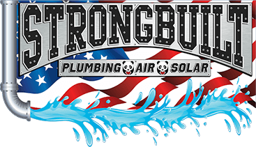 logo - strongbuilt plumbing air and solar
